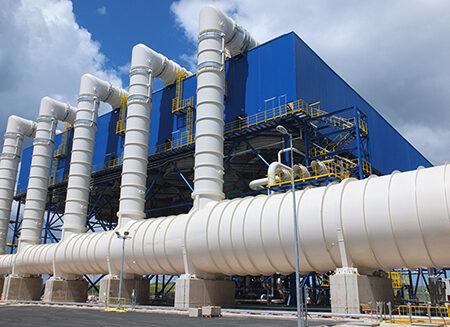 Condensador refrigerado por aire - Air Cooled Condenser (ACC)
